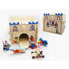 kidz-stuff-online - wooden castle playset