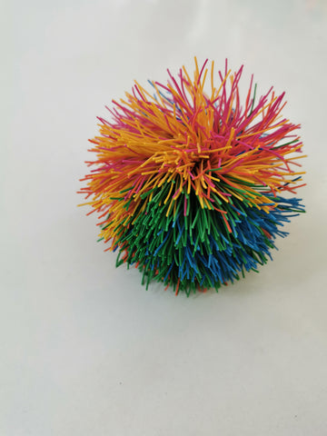 Multi-coloured Koosh Ball