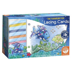 Rainbow Fish Lacing Cards