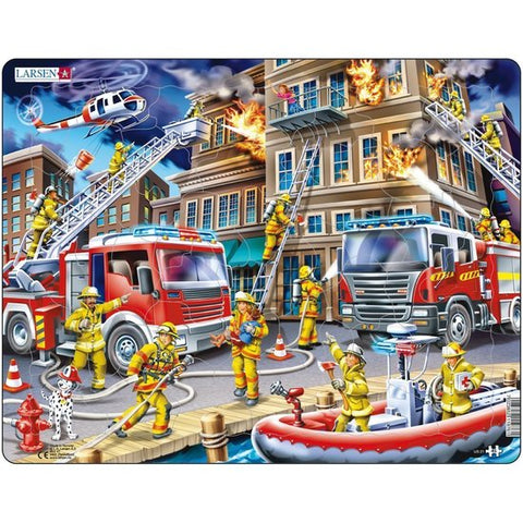 Firefighters Puzzle 45 piece puzzle