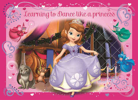 Sofia the First Learning to Dance Like A Princess