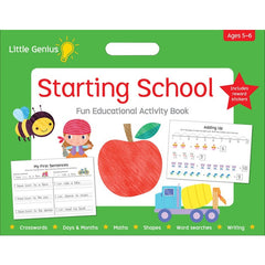 Starting School Fun Educational Activity Book