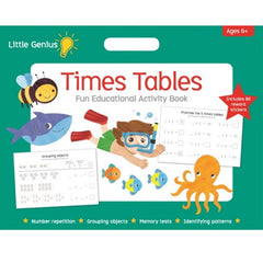 Time Table Fun Educational Activity Book