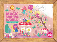 magic water painting Fairy garden