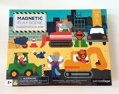 Magnetic Play Scene Construction Site