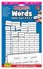 Magnetic Words & board Years 3,4 & 5