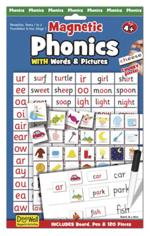 Magnetic Phonics With Words and Pictures