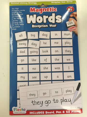 Magnetic Words Years Reception year 4+