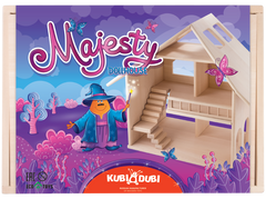 kidz-stuff-online - Majesty Wooden Dollhouse - Kubi Dubi