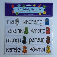 Magnetic Maori Colours