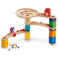 Race to the Finish Marble Run  Wooden - Hape
