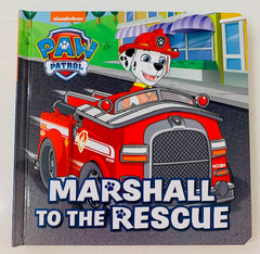marshall to the resue paw patrol book