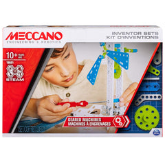 kidz-stuff-online - Meccano Geared Machines Building Kit