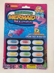 growing capsule creatures mermaids