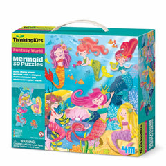 3D mermaid puzzle