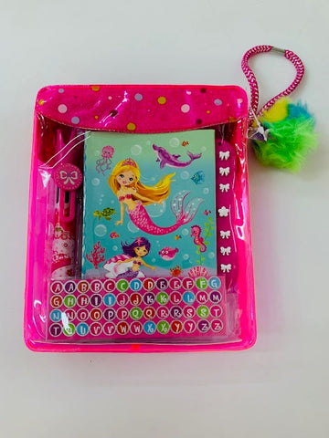 Mini Secret Journal - Mermaid - Learning Fun by Hot Focus