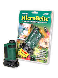 Microbrite - LED pocket microscope
