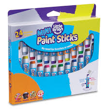 mini paint sticks - little brian