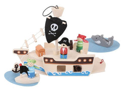 Wooden Pirate Ship mini