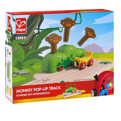 Monkey Pop Up Track - Hape