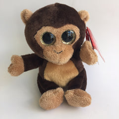 Plush Sparkle Eyes - Monkey