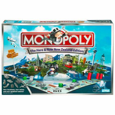 Monopoly Nz here and now edition