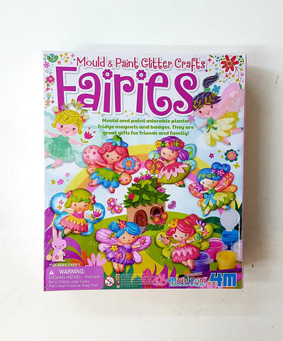 Fairies Mould and Paint Glitter