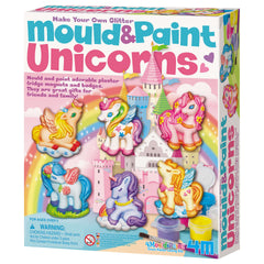 Make Your Own Glitter Mould And Paint Unicorns