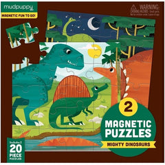 kidz-stuff-online - Magnetic Puzzle Mighty Dinosaurs