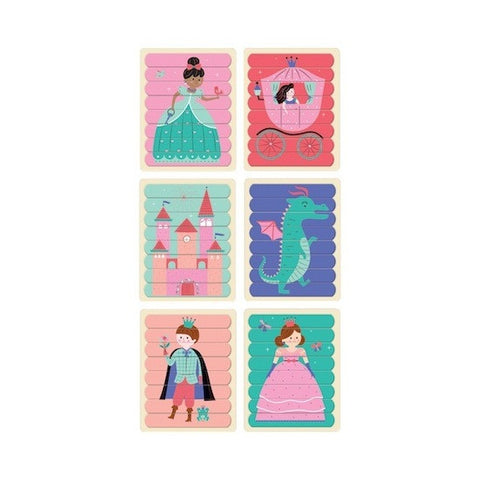 Enchanting Princess Puzzle Sticks - Mudpuppy