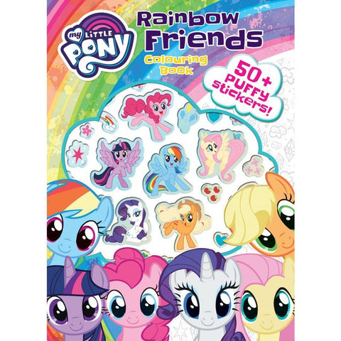 My little pony Colouring and Sticker book