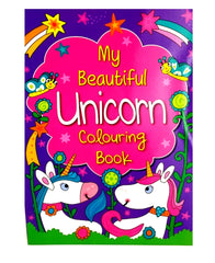 My Beautiful Unicorn Colouring Book