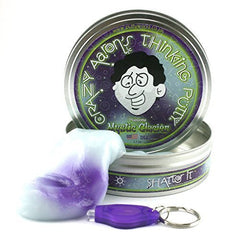 kidz-stuff-online - Thinking Putty - Mystic Glacier UV Reactive