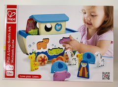 Pull-Along Noah's Ark – Wooden Playset