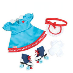 kidz-stuff-online - Our Generation Retro Soda Pop Sweetheart roller skate Outfit