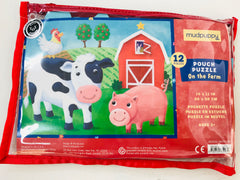 Farm puzzle in pouch