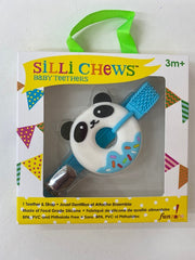 Donut Teether and Strap Panda
