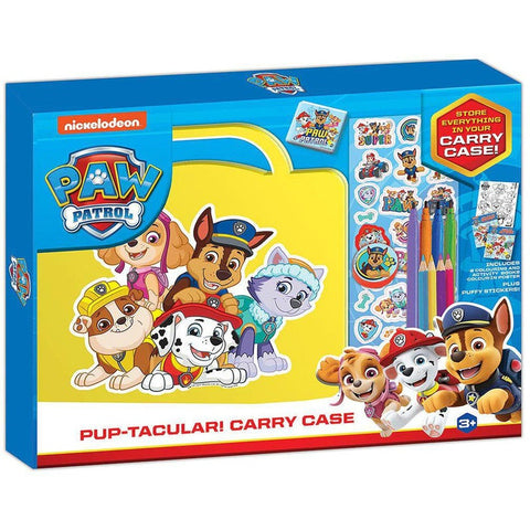 PAW PATROL PUP-TACULAR ACTIVITY CARRY CASE