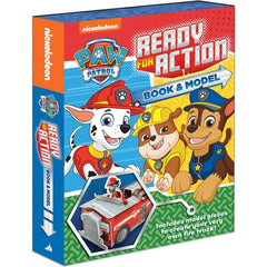 Paw Patrol Ready For Action book and activity