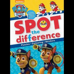 Paw patrol spot the difference Activity book