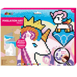 Pixelation Art Unicorn