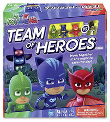 Pj mask game team of hero's