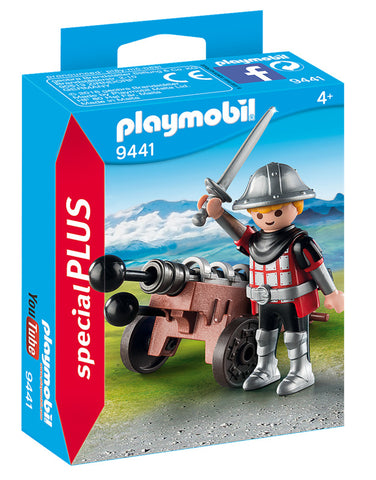 Playmobil Knight with Cannon - 9441