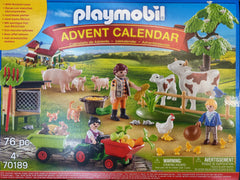 playmobil advent calender farm scene