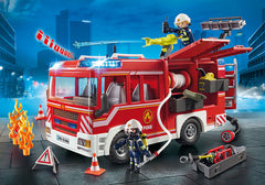 playmobil fire enigine