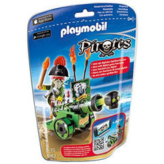 kidz-stuff-online - Playmobil 6162 - Pirates Interactive Cannon with Pirate