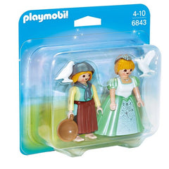 Playmobil Princess and Handmaid - 6843