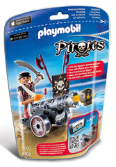 Playmobil 6165 - Pirates Interactive Cannon with Pirate