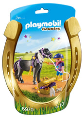 Playmobil 6970 - Groomer With Star Pony