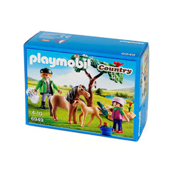 Playmobil Country 6949 Vet with Pony and Foal